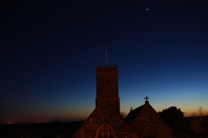 BRATTON FLEMING CHURCH AT NIGHTFALL ROBERT HESKETH 1