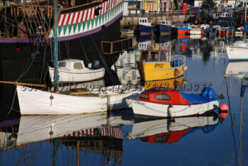 BRIXHAM INNER HARBOUR CLOSE UP ROBERT HESKETH copy