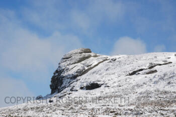HAYTOR IN SNOW